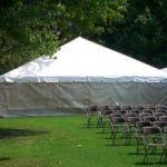 Frame Tent White Mesh Sidewall