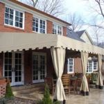 Patio Canopy with Curtains