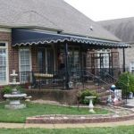 Patio Canopy with French Provincial Scallop