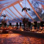 Pole Tent Clear Wedding II